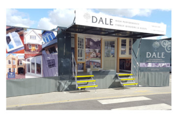 Merchant support stepped up a gear with Dale display vehicle