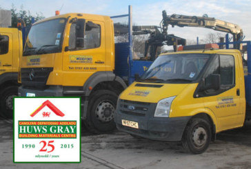 Huws Gray purchases Woodford Building & Plumbing Supplies