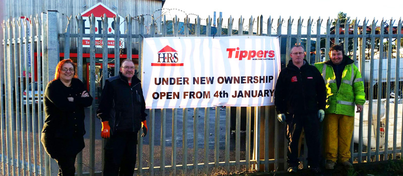 Tippers acquires Huthwaite Roofing Supplies