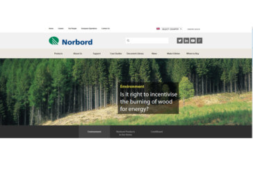 Norbord's new website gives easy access to the world of panel boards