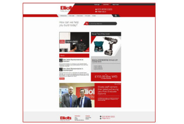 Elliotts launches new website
