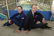 Howarth gets on board with champion diver