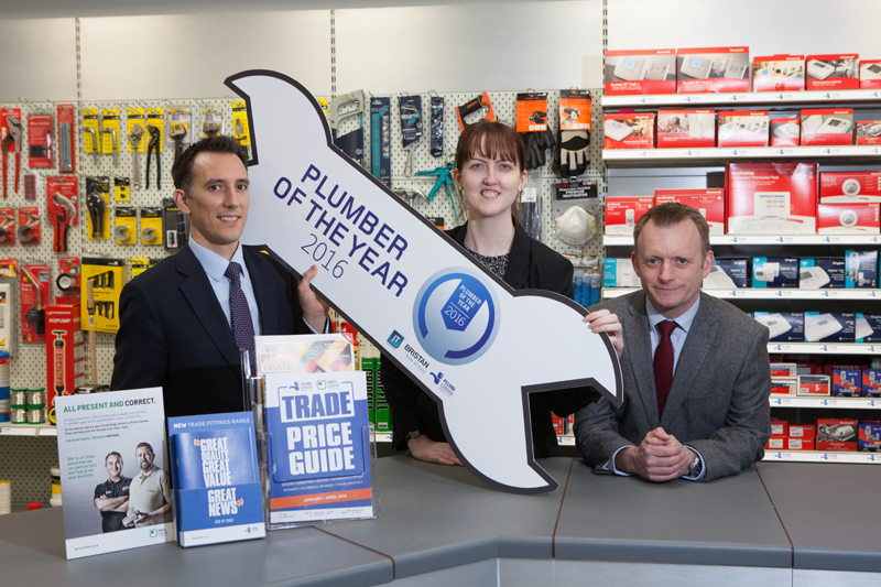 Plumb Center signs up to support 2016 UK Plumber of the Year competition