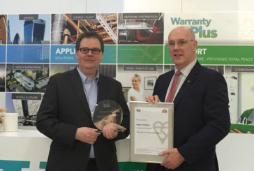 Pegler Yorkshire award win recognises long term commitment to quality
