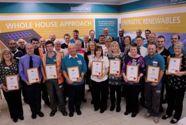 Ridgeons honours long serving staff