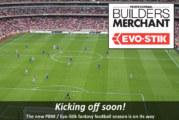 Coming soon! The PBM / Evo-Stik fantasy football league