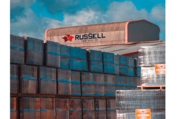 Russell Roof Tiles' investment goes through the roof
