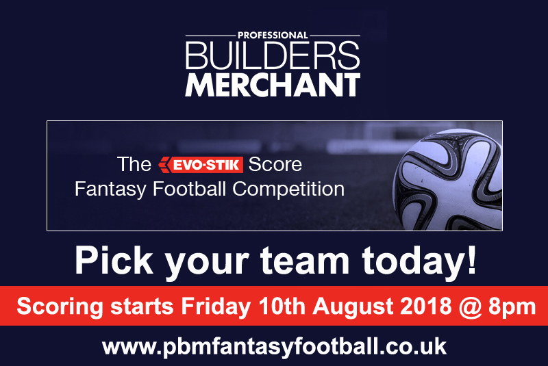 The PBM / Evo-Stik fantasy football competition is back for the 2018/19 season! Pick your team today!