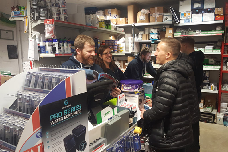 Herne Bay Plumbing and Bathroom Supplies joins The IPG