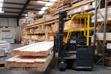 SV Timber adds Combilift forklift to its operation
