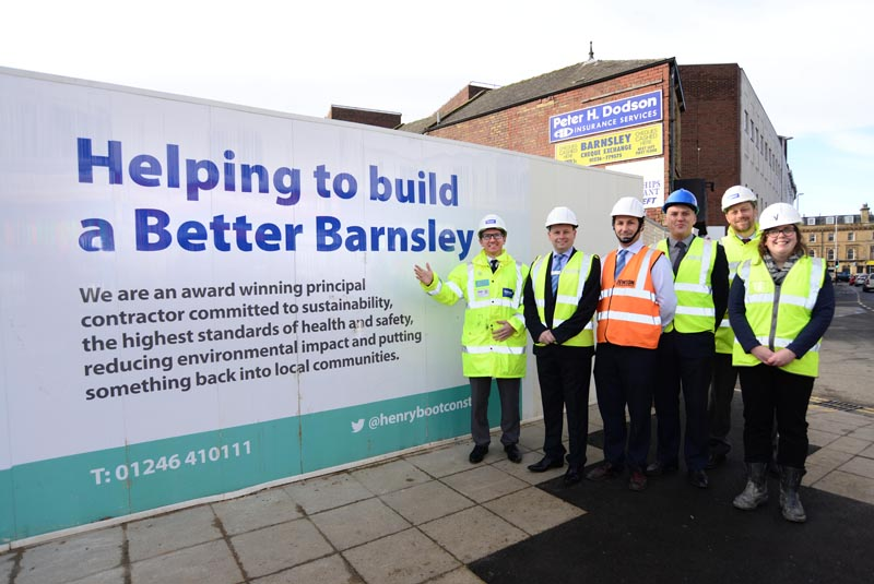 Jewson pledges support to Better Barnsley project