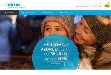 Sime updates its website