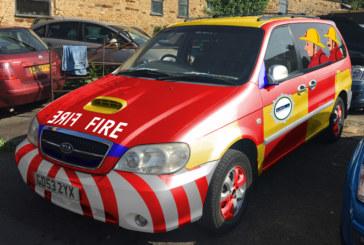 AWMS raises money for charity in 'Fireman Sam' banger