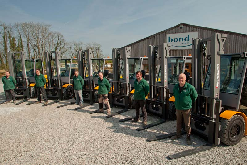 Bond Timber improves safety and efficiency with Jungheinrich