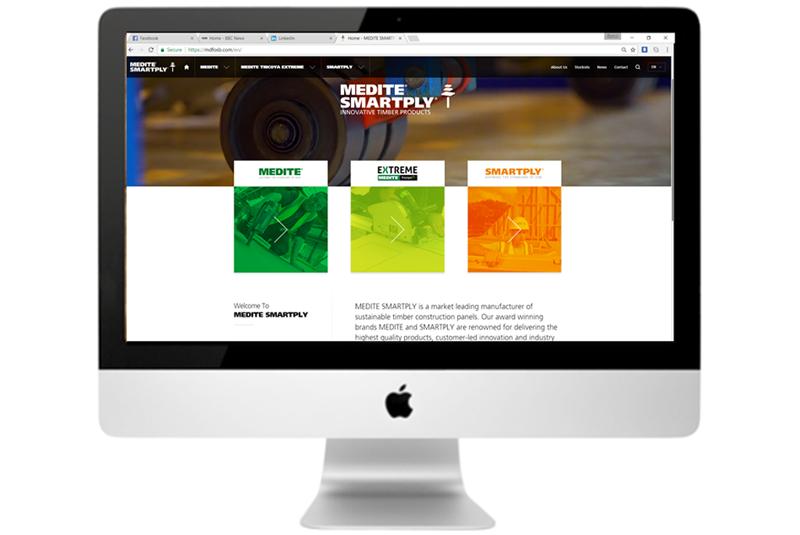 Medite Smartply launches new website