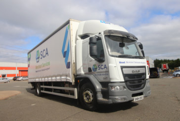 SCA Merchant Services introduces new branded livery