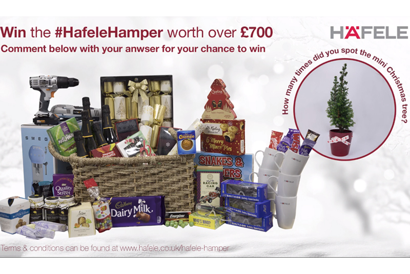 Christmas giveaway from Häfele