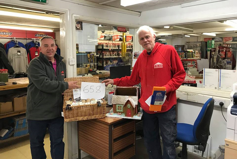D.W. Nye customers help fundraise for charity