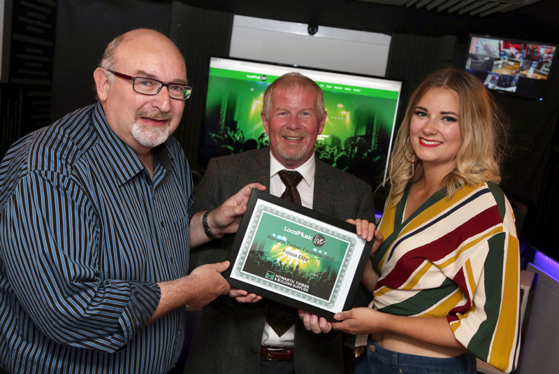 Howarth supported Local Music Live's Feliicia launches single