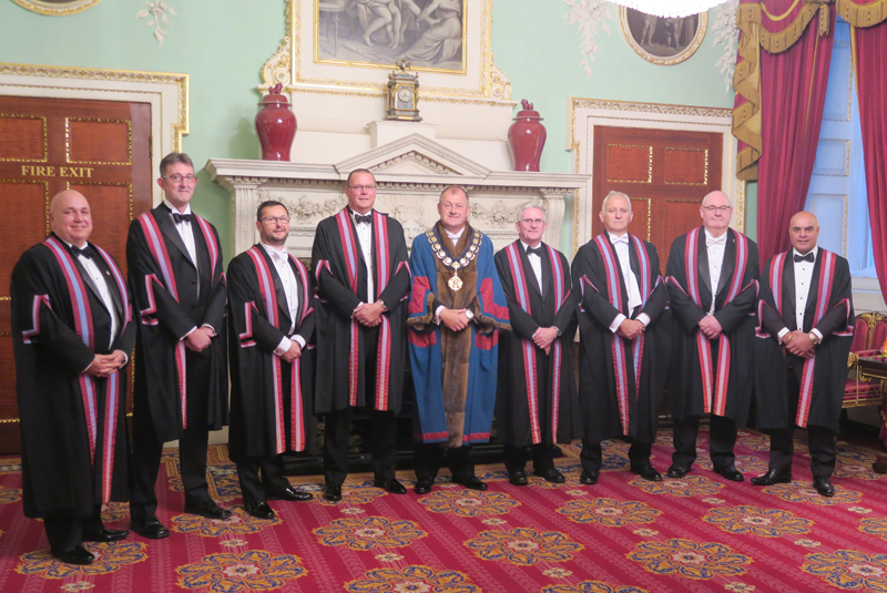 WCoBM welcomes eight new Liverymen
