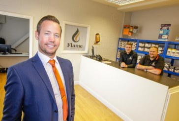 Growth recognition award handed to Flame