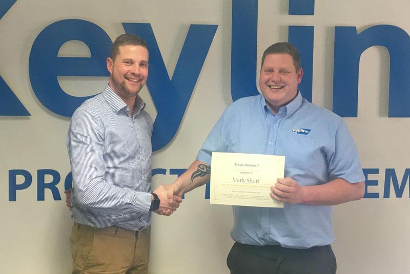 Keyline congratulates graduate employee