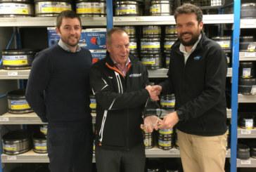 Keyline Northampton wins award from Flexseal
