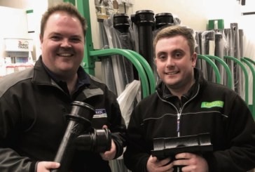 Sales growth at Lawsons with Alumasc range