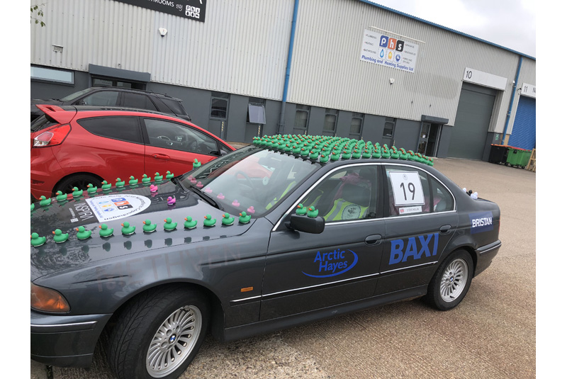 Baxi sponsors PHS in Vado Rally