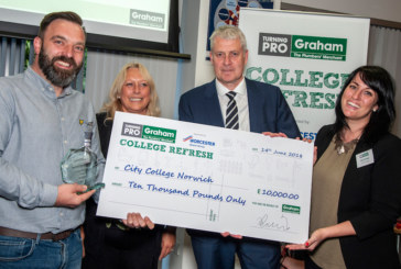 Graham announces College Refresh Awards winner