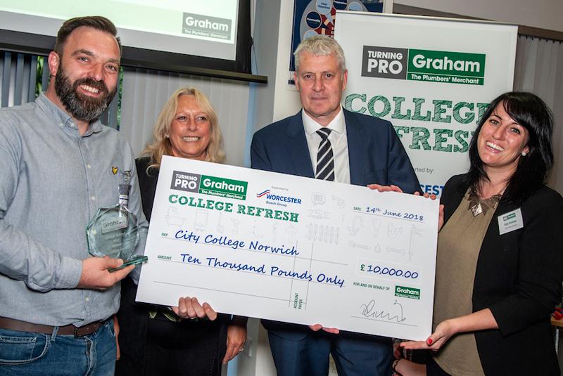 Graham announces College Refresh Awards winner