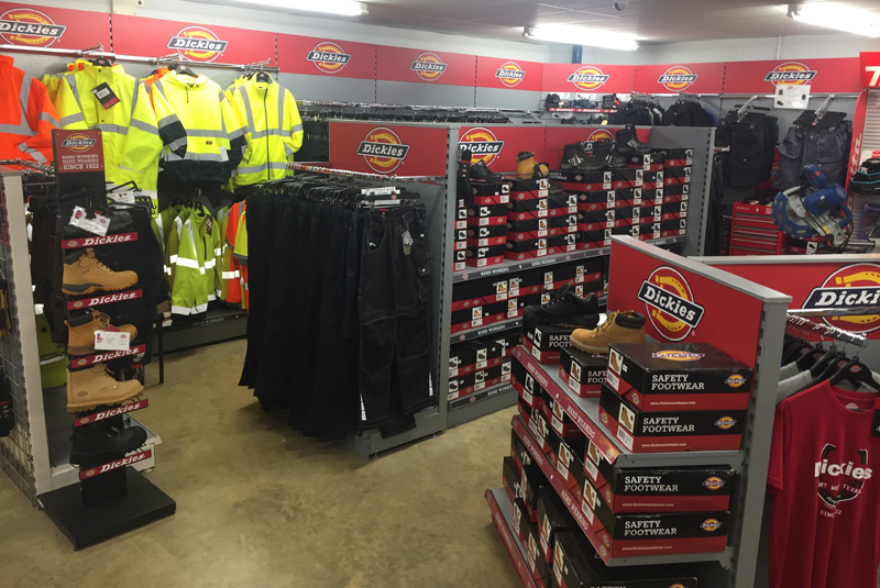 Martin & Partners gives rundown on Dickies display
