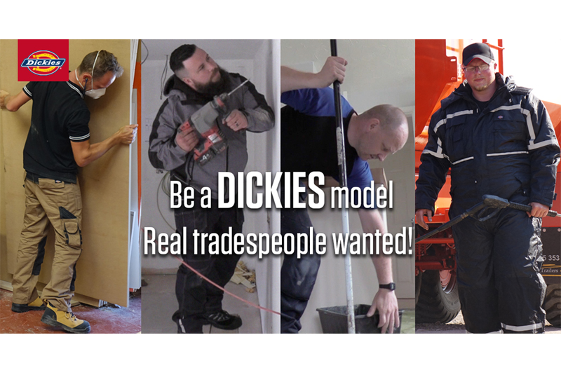 Dickies searches for 'real' models