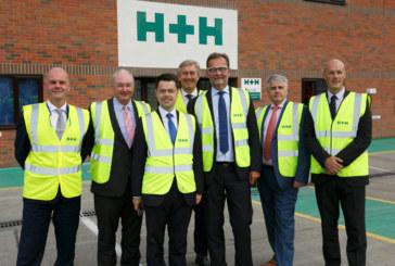 H+H opens refurbished Borough Green factory