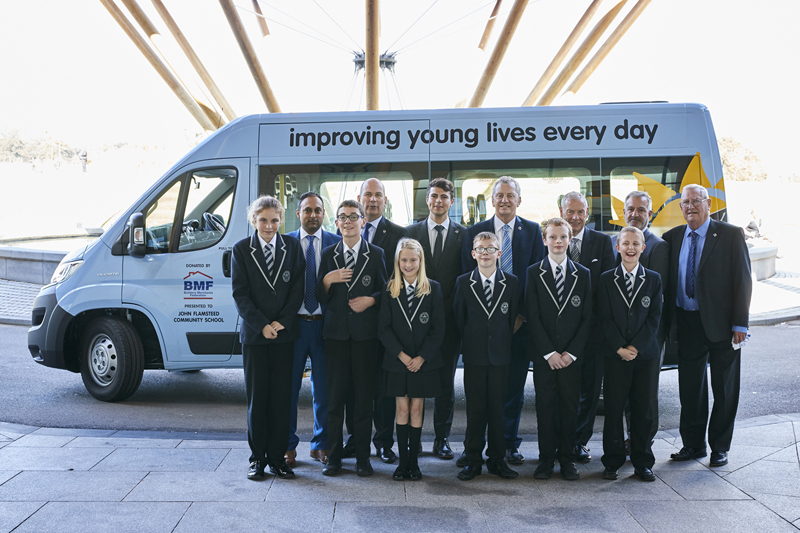BMF funds Variety Sunshine Coach