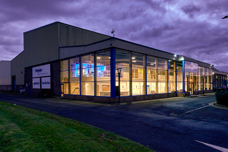 Polypipe opens training facility