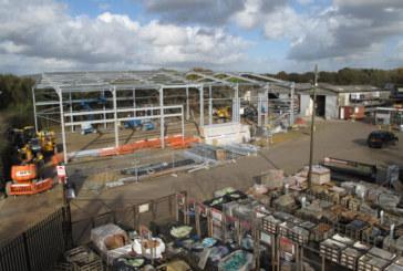 D.W. Nye expands Kingsfold depot