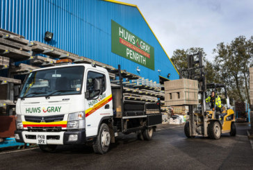 Huws Gray adds FUSO Canter to fleet