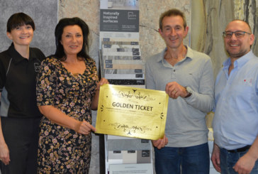 Showerwall announces winner of Golden Ticket initiative