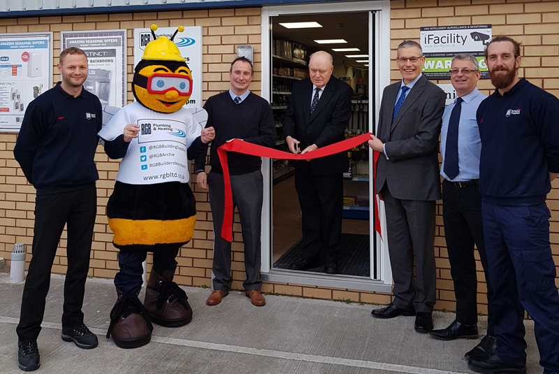 RGB celebrates Dawlish branch opening