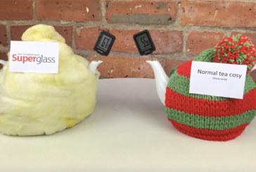 Superglass creates ultimate tea cosy