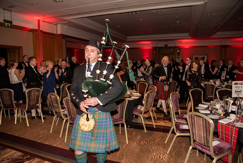 BMF raises thousands at Burns Supper