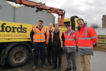 Bradfords welcomes local MP to Glastonbury branch