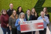 Häfele completes series of charitable events