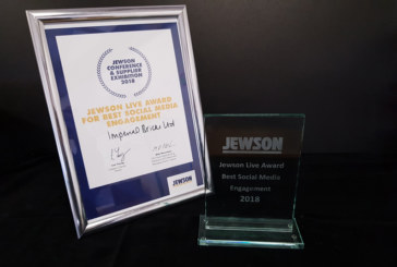 Imperial Bricks wins Jewson Live award and also joins IBC