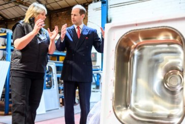 Pland Stainless welcomes royal visitor