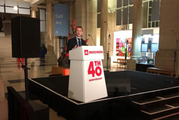 Rockwool hosts Welsh Secretary at 40th anniversary reception