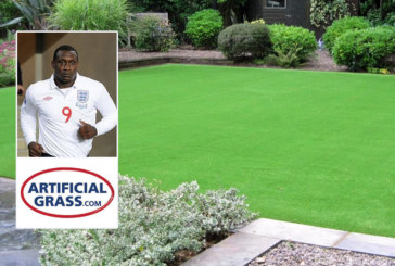ArtificialGrass.com teams up with England footballer for NMBS Exhibition