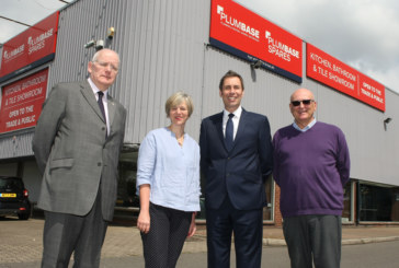 BMF organises local MP visit at Plumbase