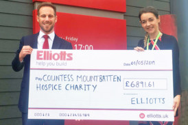 Elliotts fundraises for local hospice